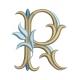 Lettre R Alphabet Tulipe