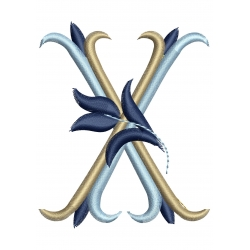 Lettre X Alphabet Tulipe