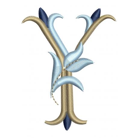 Lettre Y Alphabet Tulipe