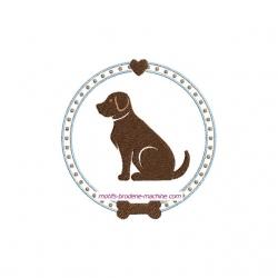 Médaillon Labrador