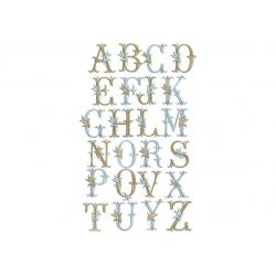 A alphabet Tulipe