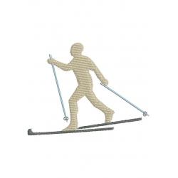 2 skieurs de fond