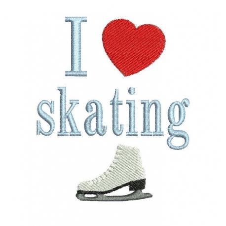 I Love skating
