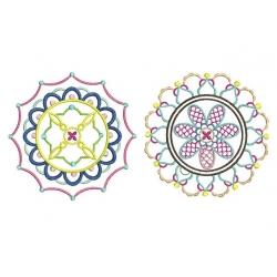 2 modèles Mandala
