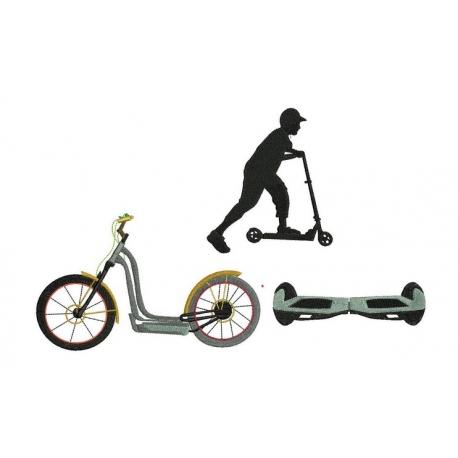 Trottinette et Hoverboard