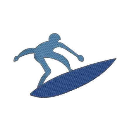 Surfeur seul