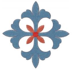 """Croix chevalier """"celtique"""" 2"""