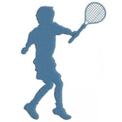 Garçon au tennis