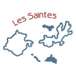 Cartes des  îles des Caraïbes