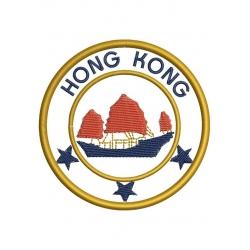 motif broderie machine écusson à thermocoller Hong Kong
